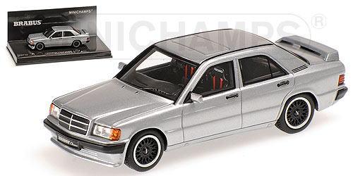 1/43 ミニチャンプス MINICHAMPS Brabus 190E 3.6S 1989 Silver ブラバス メルセデスベンツ ミニカー