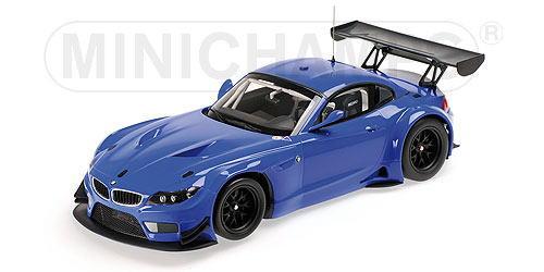 1/18 ミニチャンプス MINICHAMPS BMW Z4 GT3 2012 Blue ミニカー