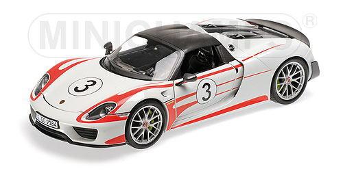1/18 ミニチャンプス MINICHAMPS Porsche 918 Spyder 2013 Weissach Package Salzburg ポルシェ スパイダー ザルツブルク ミニカー