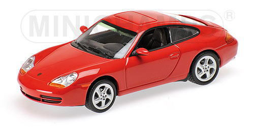 1/43 ミニチャンプス MINICHAMPS Porsche 911 Coupe 1998 Red ポルシェ クーペ ミニカー