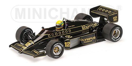 1/18 ミニチャンプス MINICHAMPS Lotus Renault 97T 1985 Ayrton Senna ロータス ルノー アイルトン セナ ミニカー