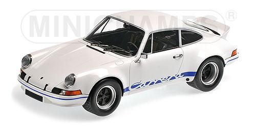 1/18 ミニチャンプス MINICHAMPS Porsche 911 Carrera RSR White w/Blue 1973 ポルシェ カレラ ミニカー
