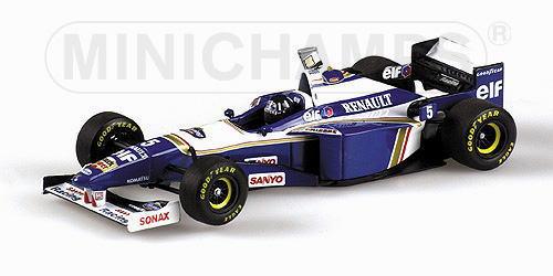 1/18 ミニチャンプス MINICHAMPS Willams Renault FW18 World Champion 1996 Damon Hill ウイリアムズ ルノー デイモン ヒル ワールドチャンピオン ミニカー