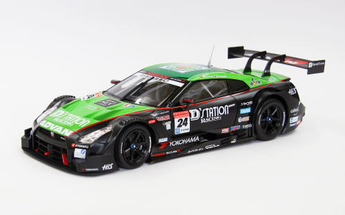 1/18 エブロ EBBRO Super GT500 2014 No.24 D'station ADVAN GT-R Rd.2 Fuji ミニカー
