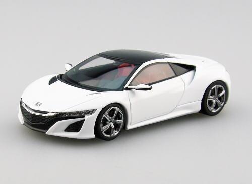 1/43 エブロ EBBRO Honda NSX Concept 2013 Pearl White ホンダ コンセプト ミニカー