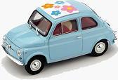 1 43 ジール Zi L Fiat 500 F Blu Pantone 2905 Edizione Limitata 200FKTlcu1J3