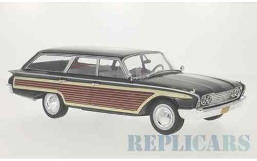 1/18 Model Car Group モデルカーグループ フォード カントリー スクワイア 1960 ブラック/ウッド Ford Country Squire ミニカー アメ車