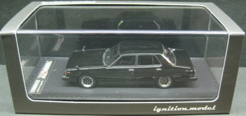 1/43 イグニッションモデル ignition model Nissan Skyline 2000 GT-EL C210 Hayashi Racing Black 日産 スカイライン ミニカー
