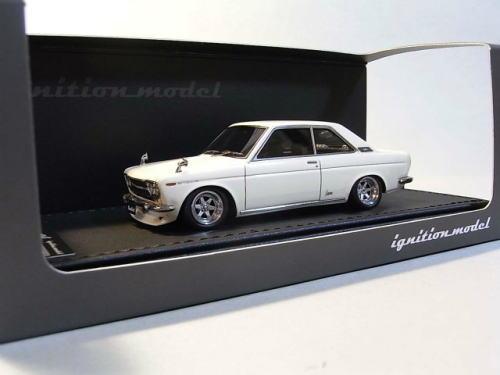 1/43 イグニッションモデル ignition model Datsun Bluebird Coupe KP510 White ダットサン ブルーバード クーペ ミニカー