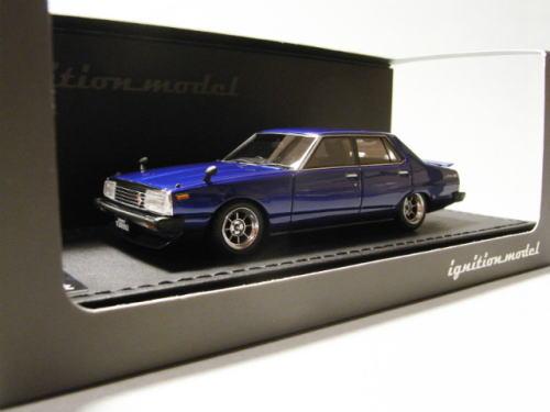 1/43 イグニッションモデル ignition model Nissan Skyline 2000 GT-EL C211 Blue 日産 スカイライン ジャパン ミニカー