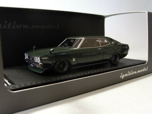 1/43 イグニッションモデル ignition model Nissan Laurel 2000SGX C130 Green 日産 ローレル ミニカー