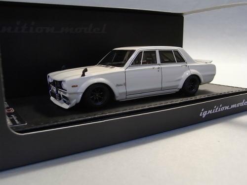 1/43 イグニッションモデル ignition model Nissan Skyline 2000 GT-R (PGC10) White 日産 スカイライン ハコスカ ミニカー