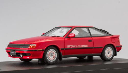 1/43 マーク43 MARK43 Toyota Celica GT-Four ST165 1987 Super Red 2 Sports Wheel トヨタ セリカ スポーツホイール ミニカー