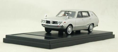 1/43 ハイストーリー Hi Story Nissan Skyline 1800 Wagon Sporty GL 1972 シルバー 日産 スカイライン ワゴン ミニカー