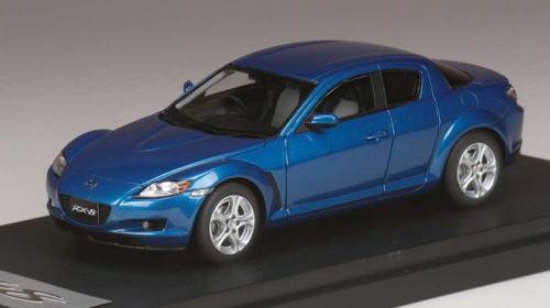 1/43 マーク43 MARK43 Mazda RX-8 (SE3P) Winning Blue Metallic マツダ ミニカー