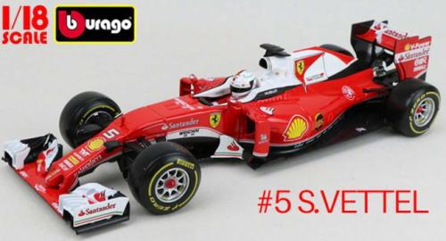 1/18 ブラゴ BURAGO Ferrari SF16-H S.Vettel フェラーリ S.ベッテル ミニカー