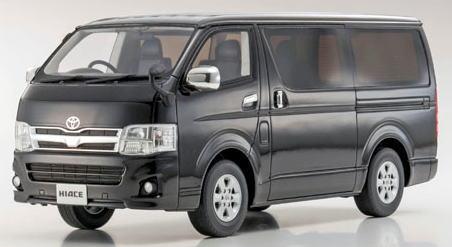 1/18 京商 KYOSHO Toyota Hiace Super GL Black トヨタ ハイエーススーパーGL samuraiシリーズ ミニカー