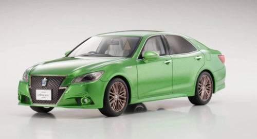 1/18 京商 KYOSHO Toyota Crown Hybrid Athlete S 若草色 トヨタ クラウン ハイブリッド アスリートS ミニカー