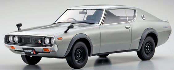 Skyline GT-R KPGC110 KYOSHO 日産 1/12 京商 スカイライン 2000 Nissan ケンメリ Silver ミニカー