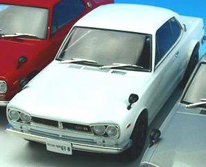 1/18 First18 Nissan Skyline GT-R KPGC10 White 日産 スカイライン ハコスカ ミニカー