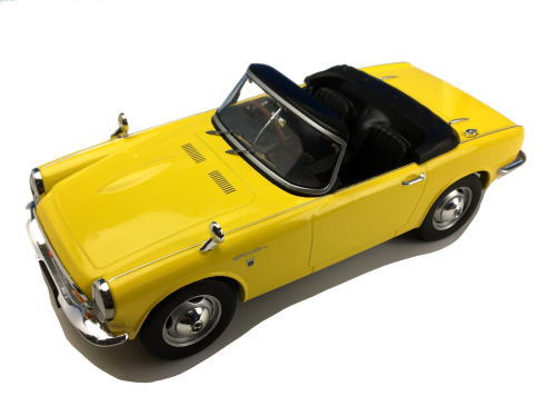 1/18 First18 Honda S800 Yellow ホンダ ミニカー