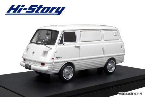 1/43 ハイストーリー Hi Story Mazda Bongo 1000 Route Van 1968 ホワイト マツダ ボンゴ ミニカー