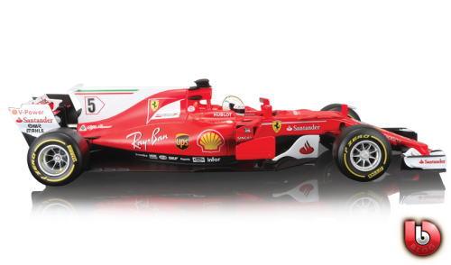 1/18 ブラゴ BURAGO Ferrari SF70H S.Vettel フェラーリ S.ベッテル ミニカー