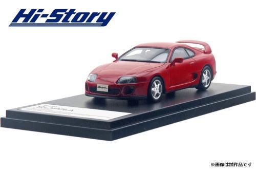 1/43 ハイストーリー Hi Story Toyota Supra RZ 1995 スーパーレッド トヨタ スープラ ミニカー