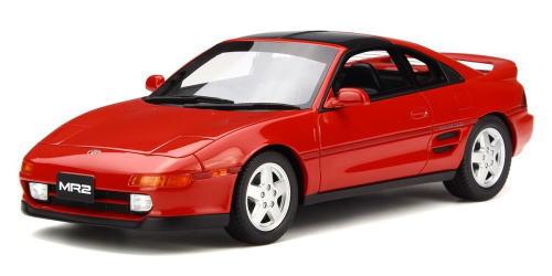 【お気にいる】 1/18 OTTO オットー オットー Toyota MR2 OTTO Red トヨタ MR2 ミニカー, ポポラマーマ:73a97d83 --- konecti.dominiotemporario.com