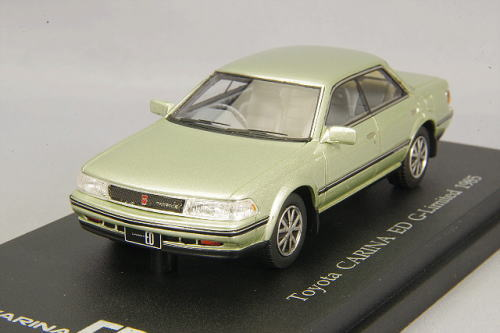 1/43 CAM@ Toyota Carina ED G-Limited 1985 グリニッシュシルバー トヨタ カリーナ ミニカー