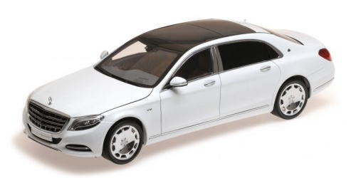 1/18 ALMOST REAL Mercedes-Maybach S-Class 2016 Diamond White メルセデス マイバッハ ミニカー