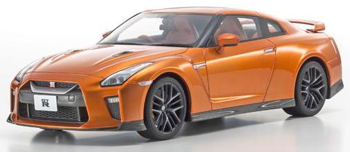 1/18 京商 KYOSHO Nissan GT-R Premium Edition Orange 日産 samuraiシリーズ ミニカー
