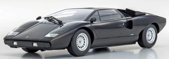 1/18 京商 KYOSHO Lamborghini Countach LP400 Black ランボルギーニ カウンタック ミニカー