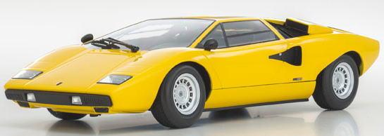 1/18 京商 KYOSHO Lamborghini Countach LP400 Yellow ランボルギーニ カウンタック ミニカー