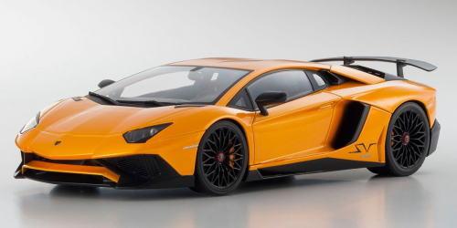 1/18 京商 KYOSHO Lamborghini Aventador LP750-4 Superveloce Orange ランボルギーニ アヴェンタドール スーパーヴェローチェ ミニカー