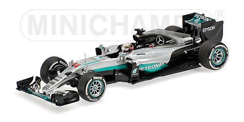 1/43scale ミニチャンプス MINICHAMPS Mercedes AMG Petronas F1 Team F1 W07 Hybrid Australian GP 2016 L.Hamilton メルセデス ペトロナス ハイブリッド オーストラリアGP ハミルトン