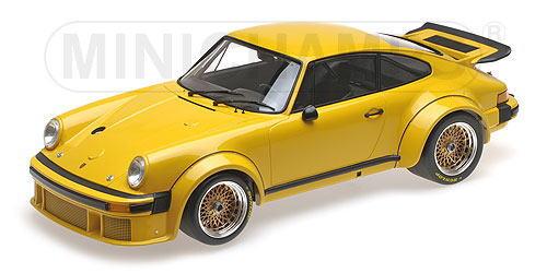 1/12 ミニチャンプス MINICHAMPS Porsche 934 1976 Yellow ポルシェ ミニカー