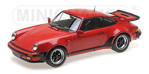1/12 ミニチャンプス MINICHAMPS Porshce 911 Turbo 1977 Red ポルシェ ターボ ミニカー