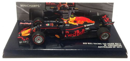 1/43 ミニチャンプス MINICHAMPS Red Bull Racing TAG Heuer RB13 Australian GP 2017 M.Verstappen レッドブル レーシング オーストラリア GP 1/43 ミニカー