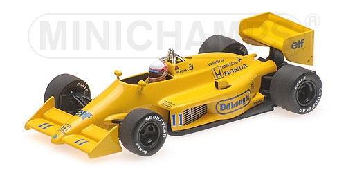 1/43 ミニチャンプス MINICHAMPS Lotus Honda 99T S.Nakajima Monaco GP ロータス ホンダ 中嶋悟 モナコGP ミニカー