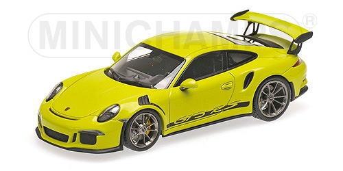 1/18 ミニチャンプス MINICHAMPS Porsche 911 GT3 RS 2015 Lightgruen ポルシェ ミニカー