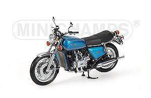 1/12 MINICHAMPS ミニチャンプス Honda Goldwing GL 1000 KO 1975 Blue/Green ホンダ ゴールドウイング バイク ミニカー