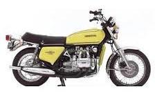 1/12 MINICHAMPS ミニチャンプス Honda Goldwing GL 1000 KO 1975 Yellow ホンダ ゴールドウイング バイク ミニカー
