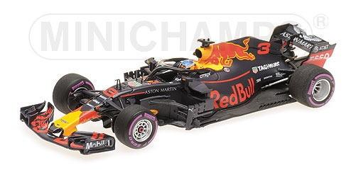 1/43 ミニチャンプス MINICHAMPS Aston Martin Red Bull Racing TAG Heuer RB14 D.Ricciardo Winner Monaco GP 2018 アストンマーチン レッドブル レーシング モナコGP 優勝 ミニカー