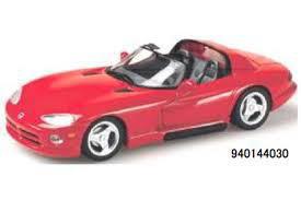 ダッジ バイパー 1 定価の67%OFF 43 本日の目玉 アメ車 ミニカー MAXICHAMPS マキシチャンプス Viper Red 1993 Roadster Dodge