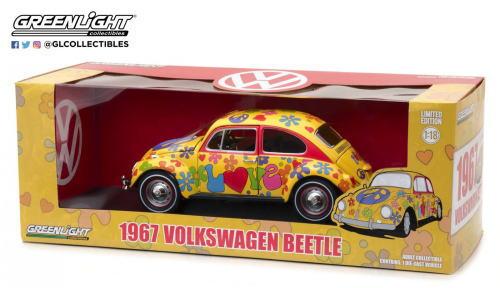 1/18 グリーンライト GREENLIGHT 1967 Volkswagen Beetle フォルクスワーゲン ビートル ミニカー