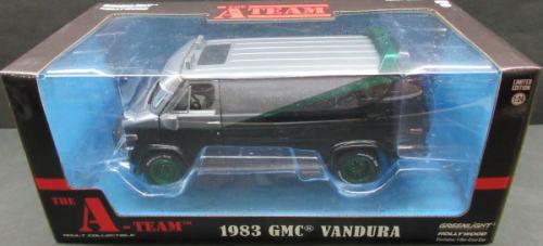 1/24 グリーンライト GREENLIGHT The A TEAM 1983 GMC Vandura 特攻野郎Aチーム バンデューラ ミニカー アメ車 グリーンマシーン