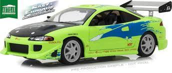 1/18 グリーンライト GREENLIGHT Fast & Furious Brian's 1995 Mitsubishi Eclipse ワイルドスピード 三菱 エクリプス ミニカー
