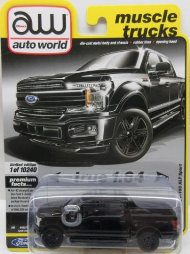 フォード お歳暮 F-150 ミニカー アメ車 1 64 2019 いつでも送料無料 Ford Sport World Auto XLT