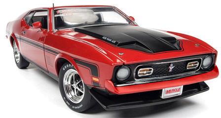 1/18 auto world 1971 Ford Mustang Mach1 フォード マスタング マッハ1 ミニカー アメ車